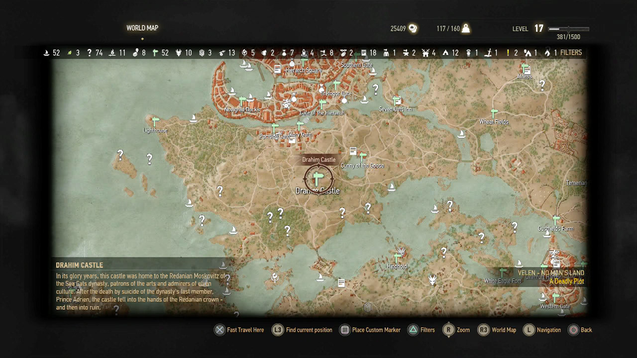The Witcher 3 Where To Find Cat School Gear Usgamer Diagram 1 2 Youll This Unguarded At Drahim Castle Signpost Just South Of Novigrad Its Southwest Cunny Goose