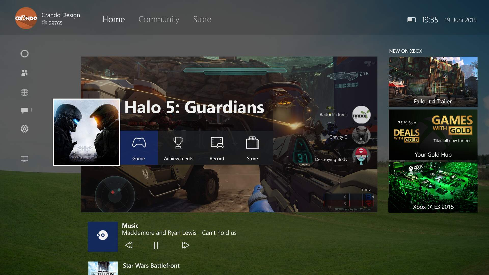 The New Xbox One Experience Rolls Out Tomorrow
