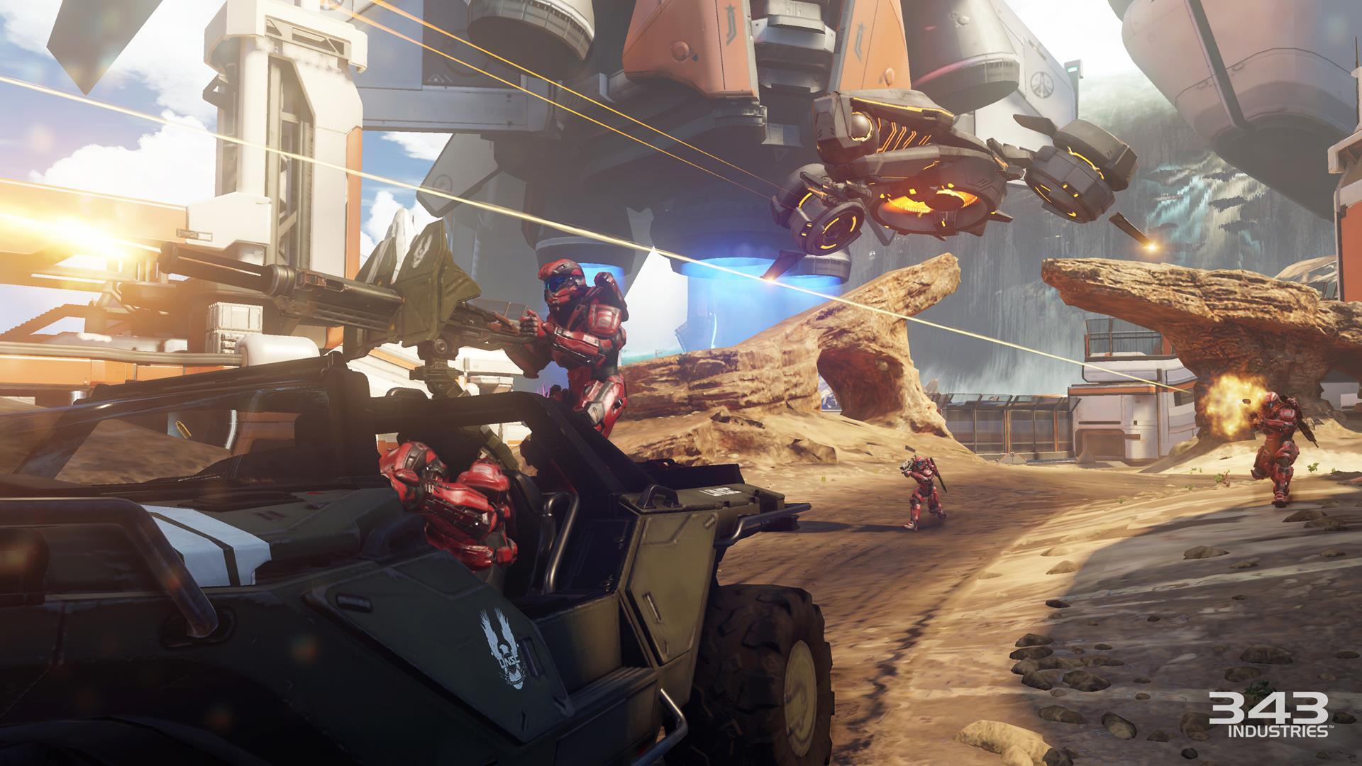 Halo 5: Guardians Xbox One Review: Three in One   USgamer