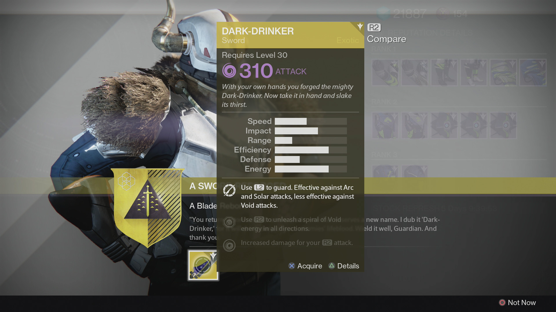 Destiny the taken king how to get the sword a broken will usgamer an error occurred malvernweather Choice Image