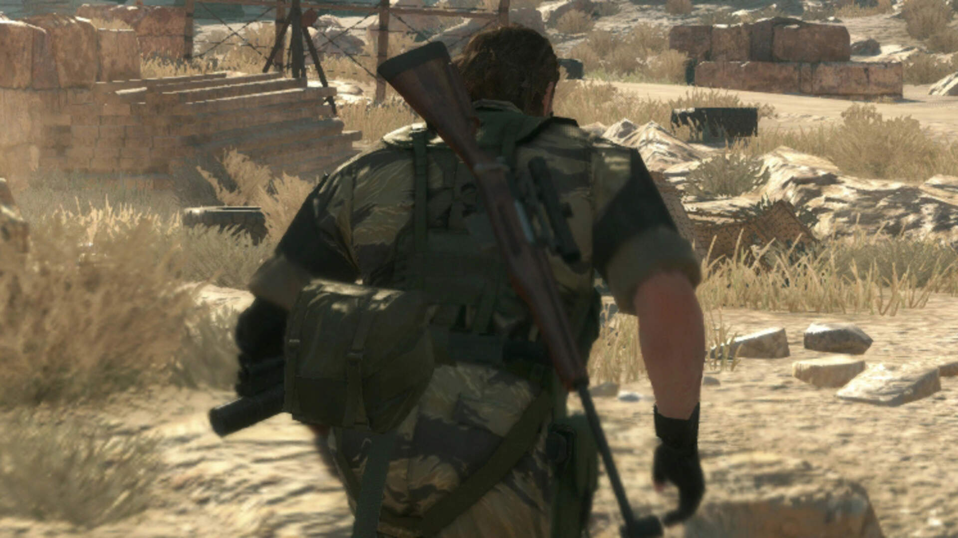 Metal Gear Solid 5 - Memento Photos Location Guide - Extract the Wandering Mother Base Soldier Side Ops missions