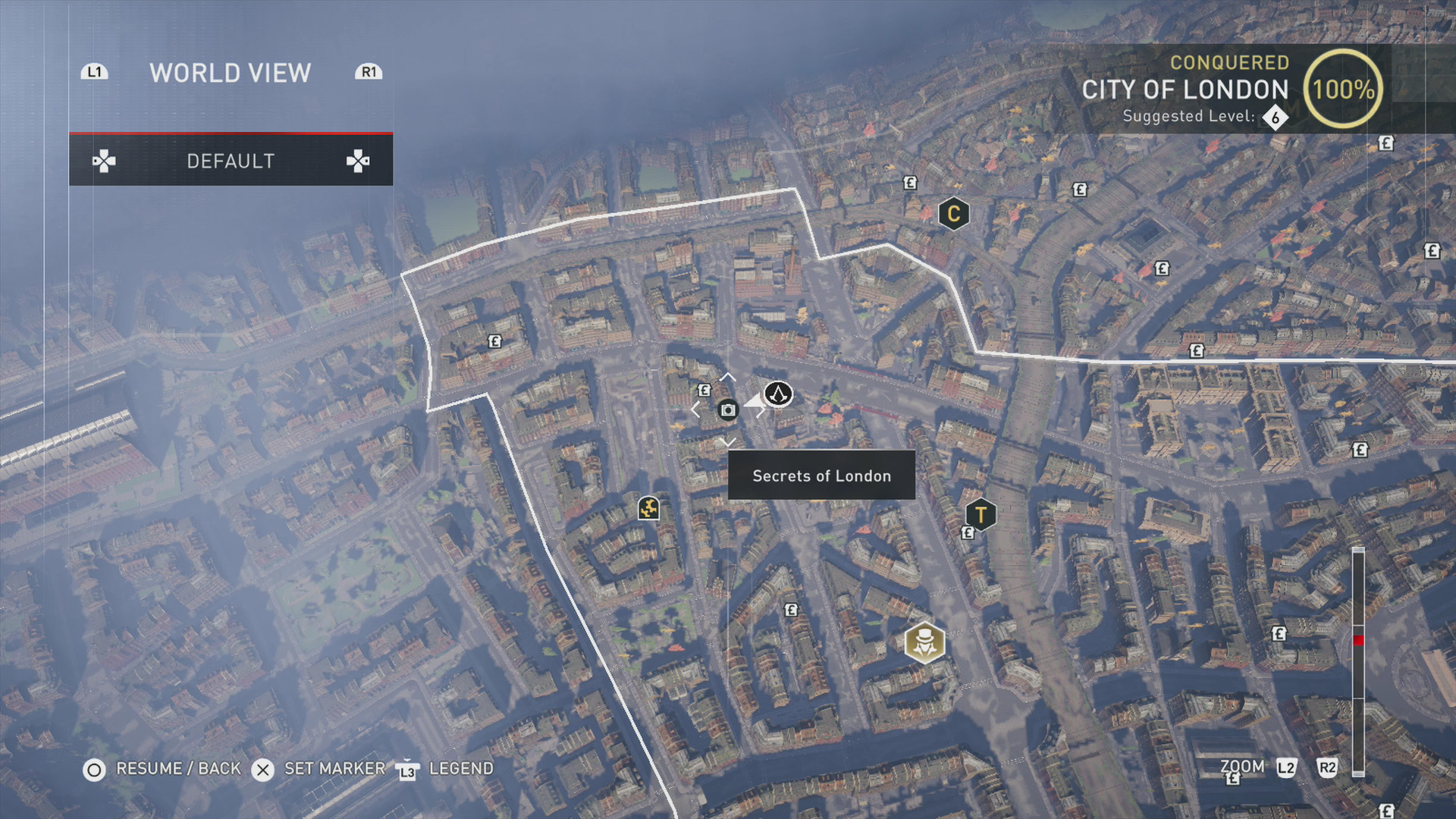 secrets of london city of london map Assassin S Creed Syndicate All Secrets Of London Locations Aegis Outfit Usgamer