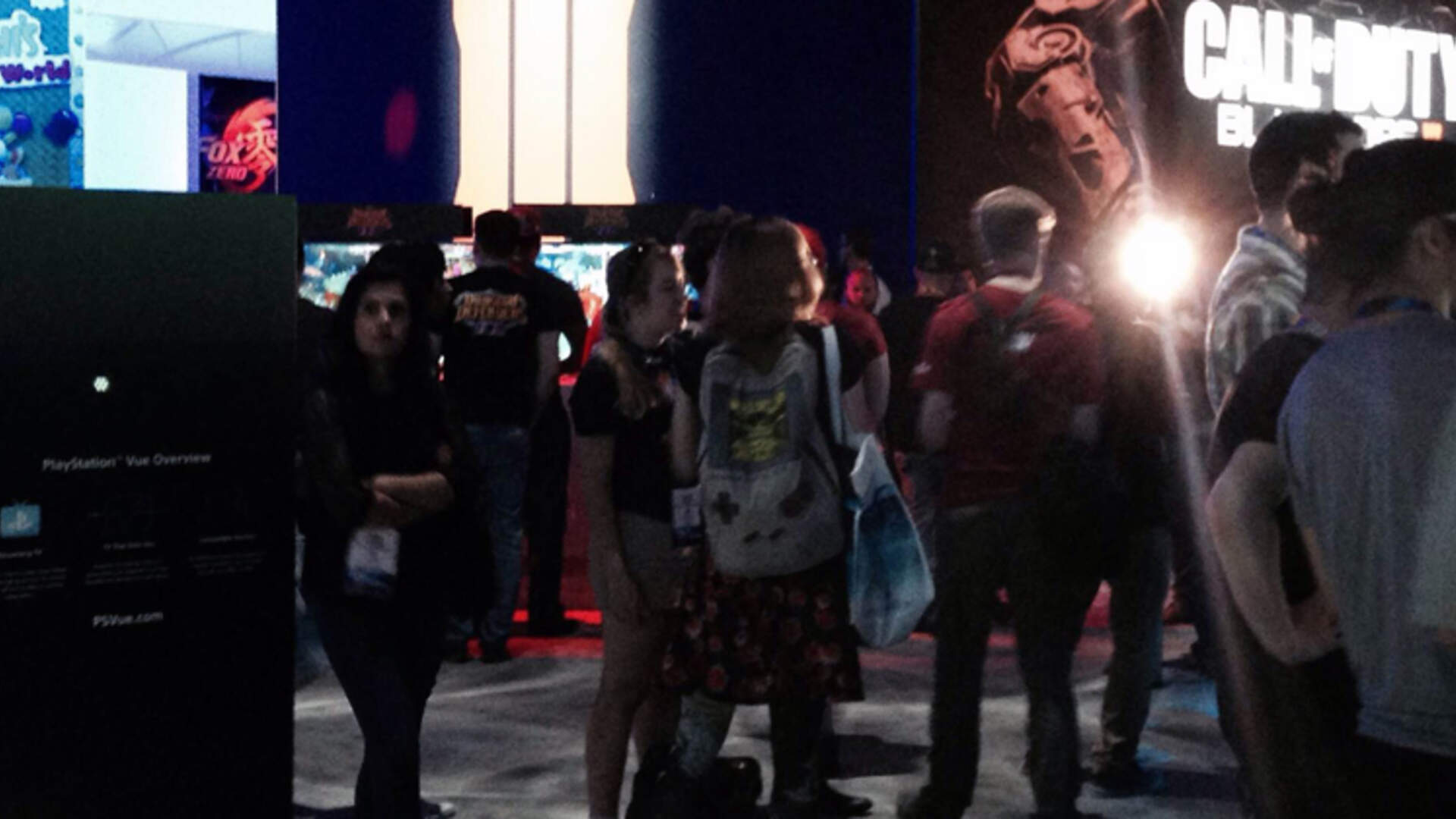 On the Show Floor: Getting Lost in the Sony Booth, Cosmic Star Heroine, and Why I'm Struggling with Super Mario Maker