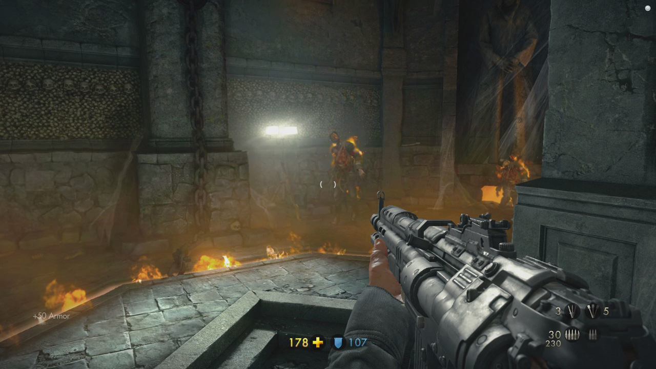 Wolfenstein: The Old Blood Chapter 8 - Dig Site - Final Boss