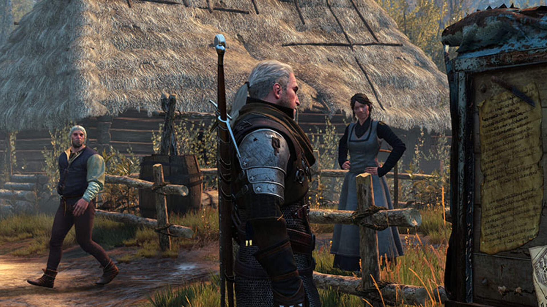 The Witcher 3: Missing in Action, On Death's Bed Walkthrough