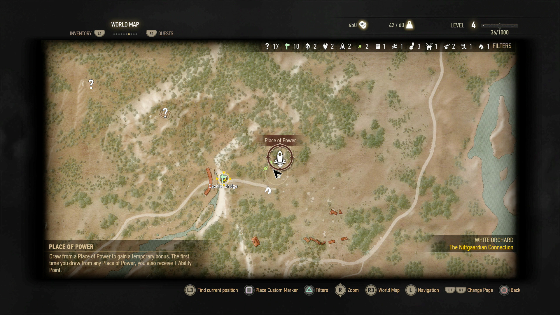 The Witcher 3 - All Places of Power Locations | USgamer