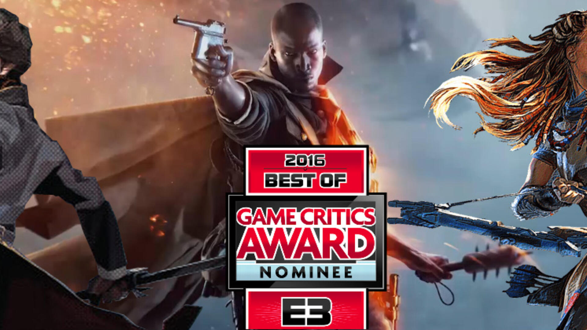 Battlefield 1, Dishonored 2, and Horizon Lead the 2016 Game Critics: Best of E3 Nominees