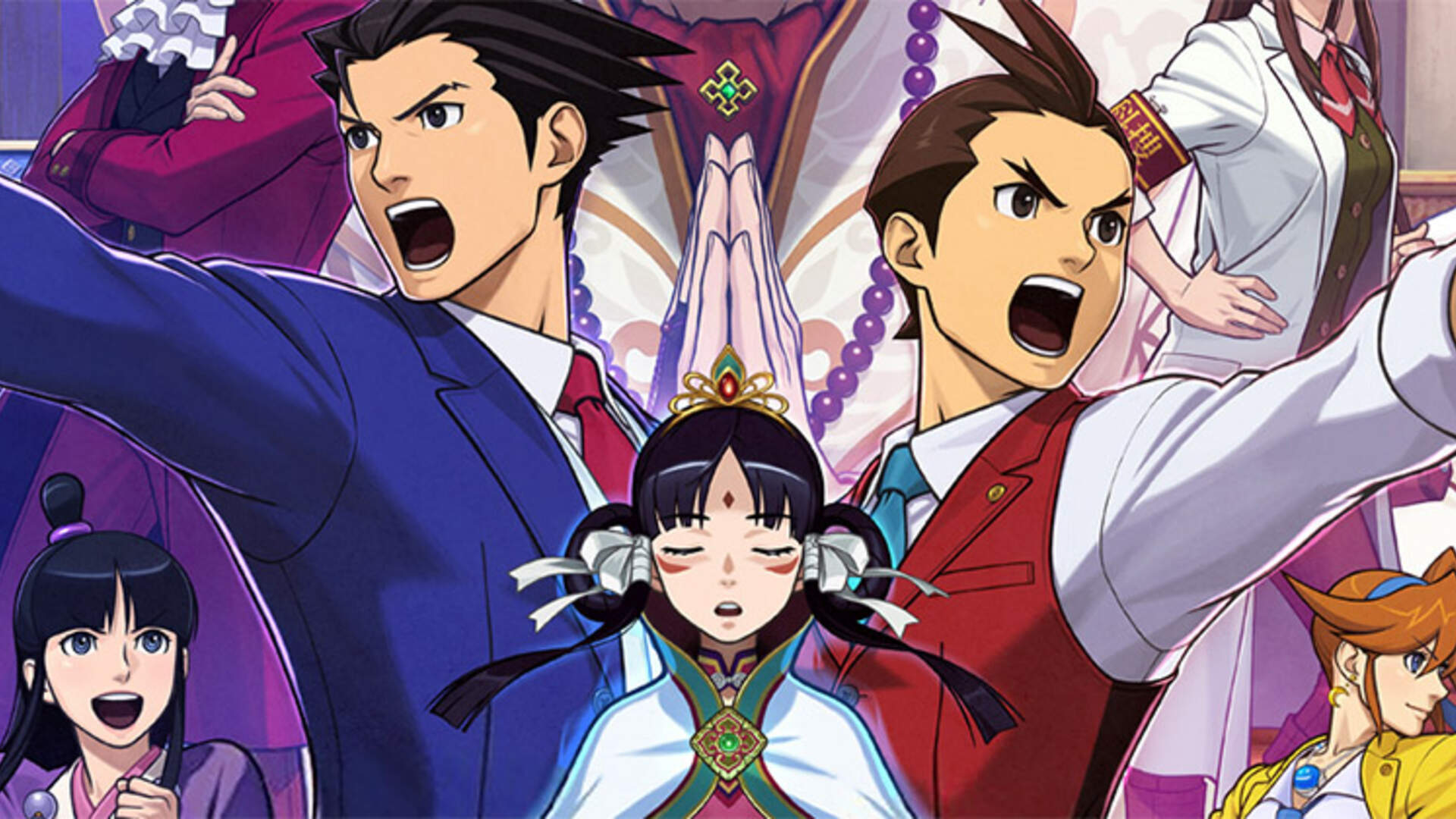 Phoenix Wright Ace Attorney Spirit Of Justice 3ds Review Big