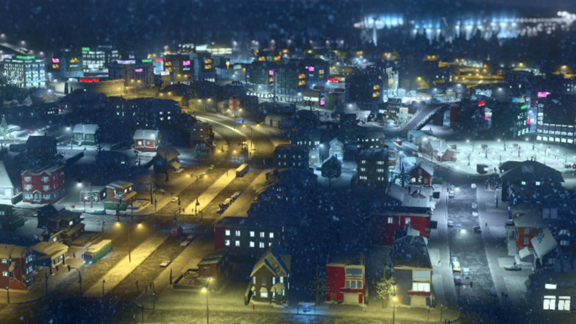 "Cities Skylines Snowfall Tests the Limits of the Word ""Expansion"""