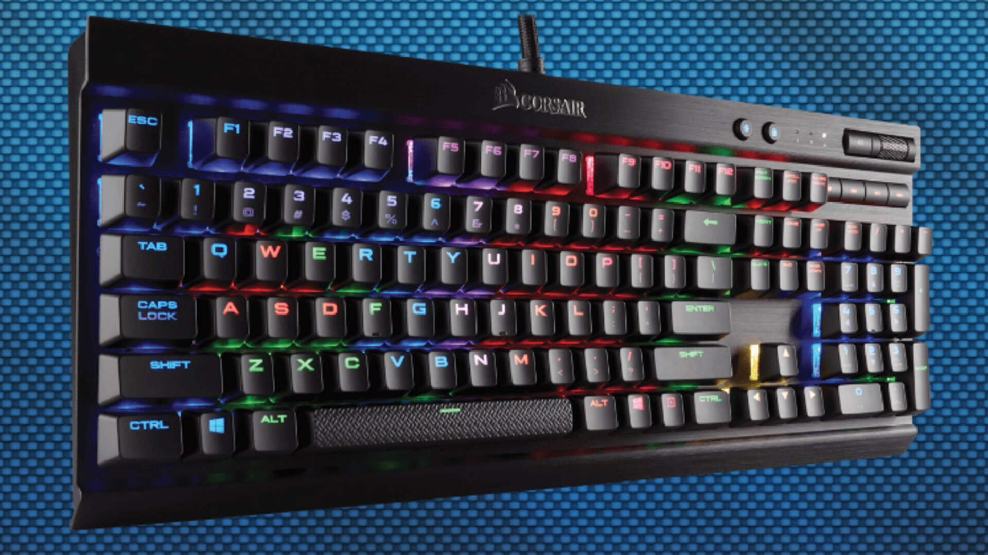 Corsair K70 RGB Rapidfire Review: Pro-level Speed and Lighting in a Single Package