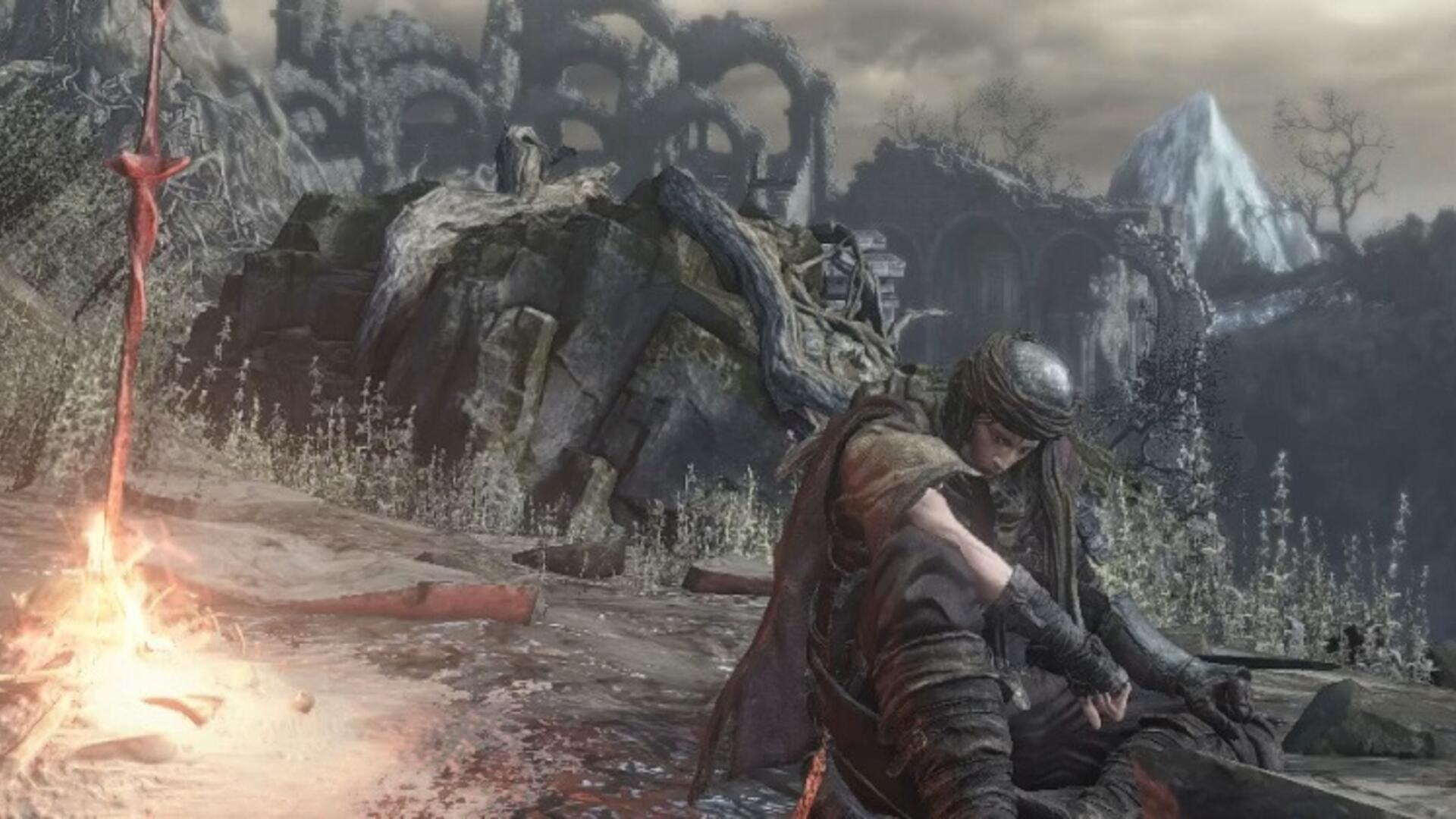Watch One Player Beat Two Different Dark Souls Bosses at the Same Time on One Controller