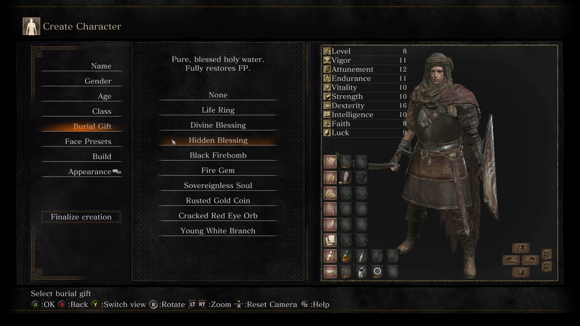 Dark Souls  Damage Build
