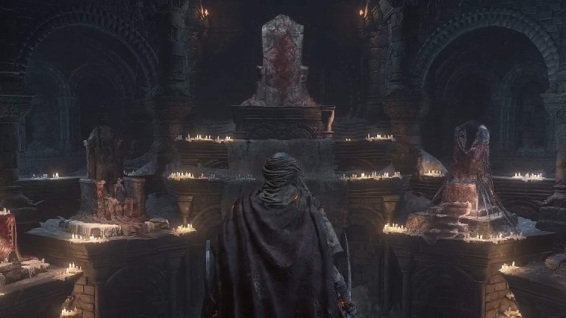 Dark Souls 3: Firelink Shrine - Fire Keeper, Shrine Handmaid