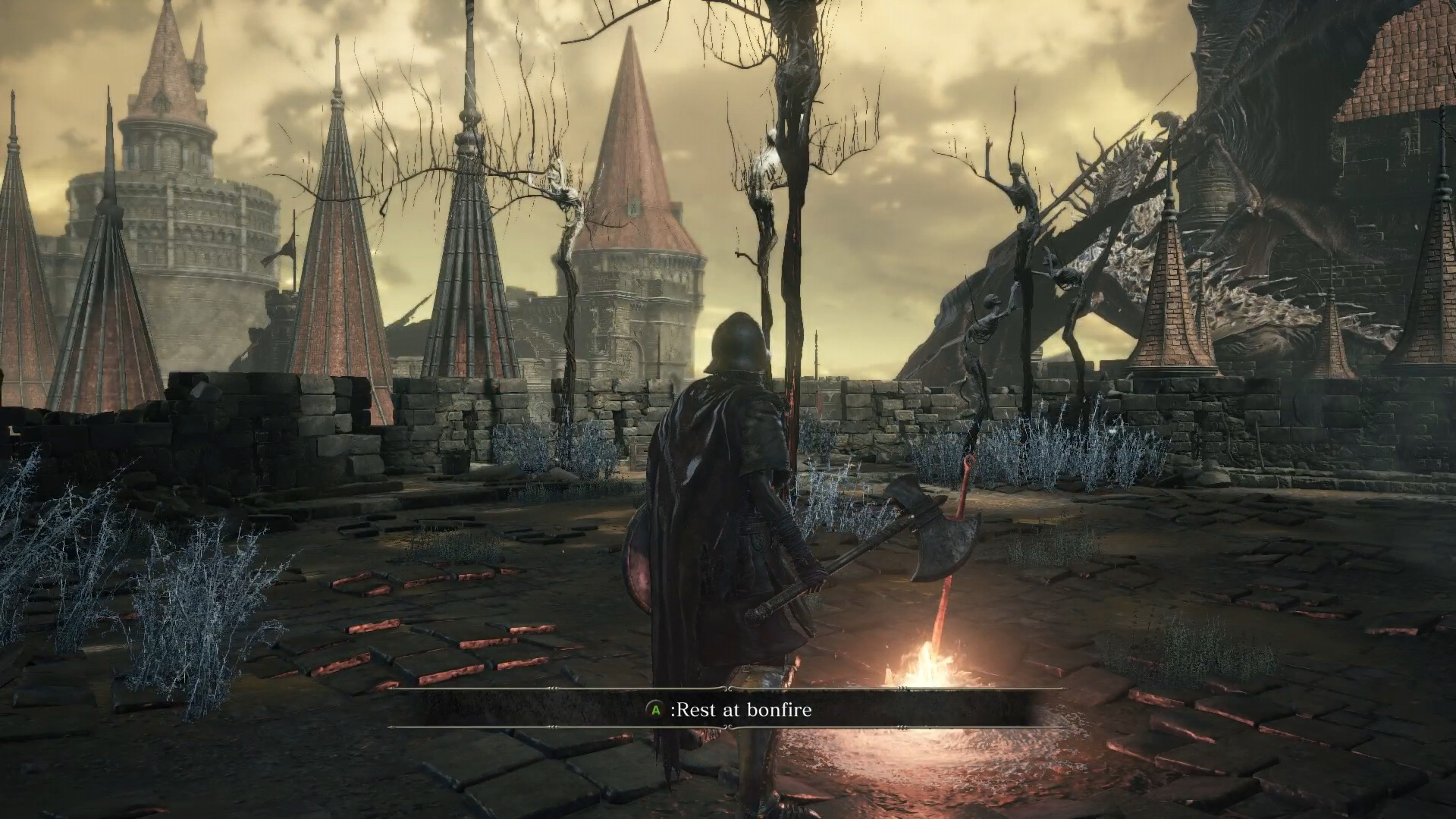 Dark Souls 3 High Wall Of Lothric Defeat Vordt Of The