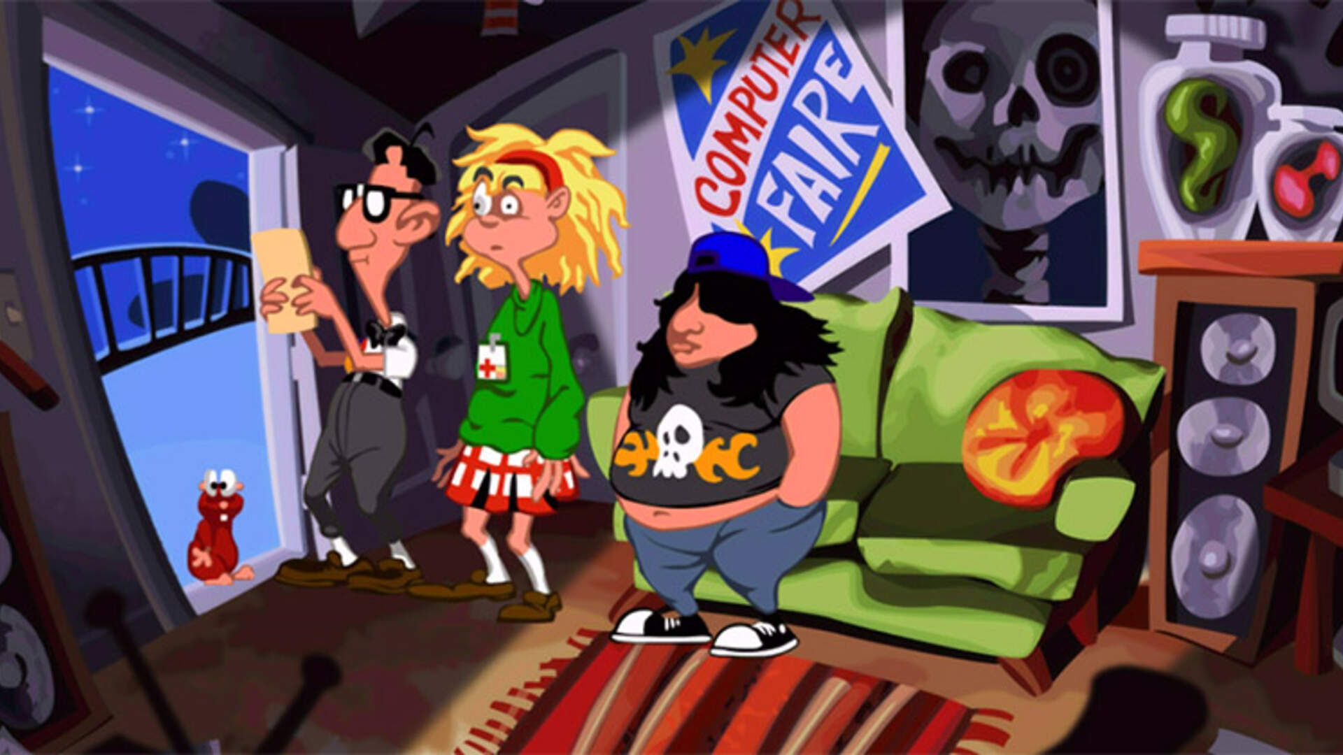 Day of the Tentacle Remastered PC Review: Time After Time