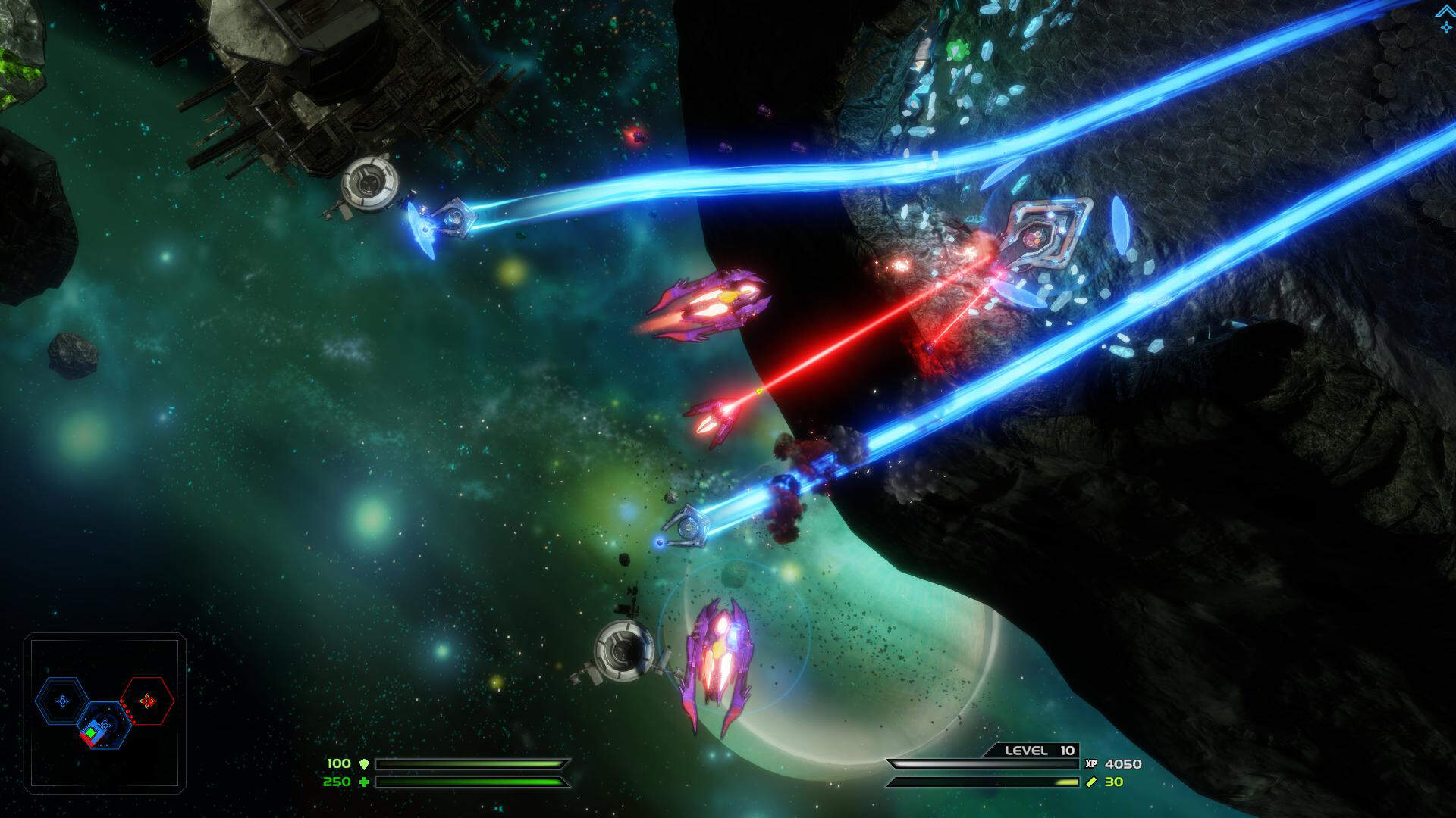 Dead Star PC/PS4 Preview: Star Control Meets SubSpace