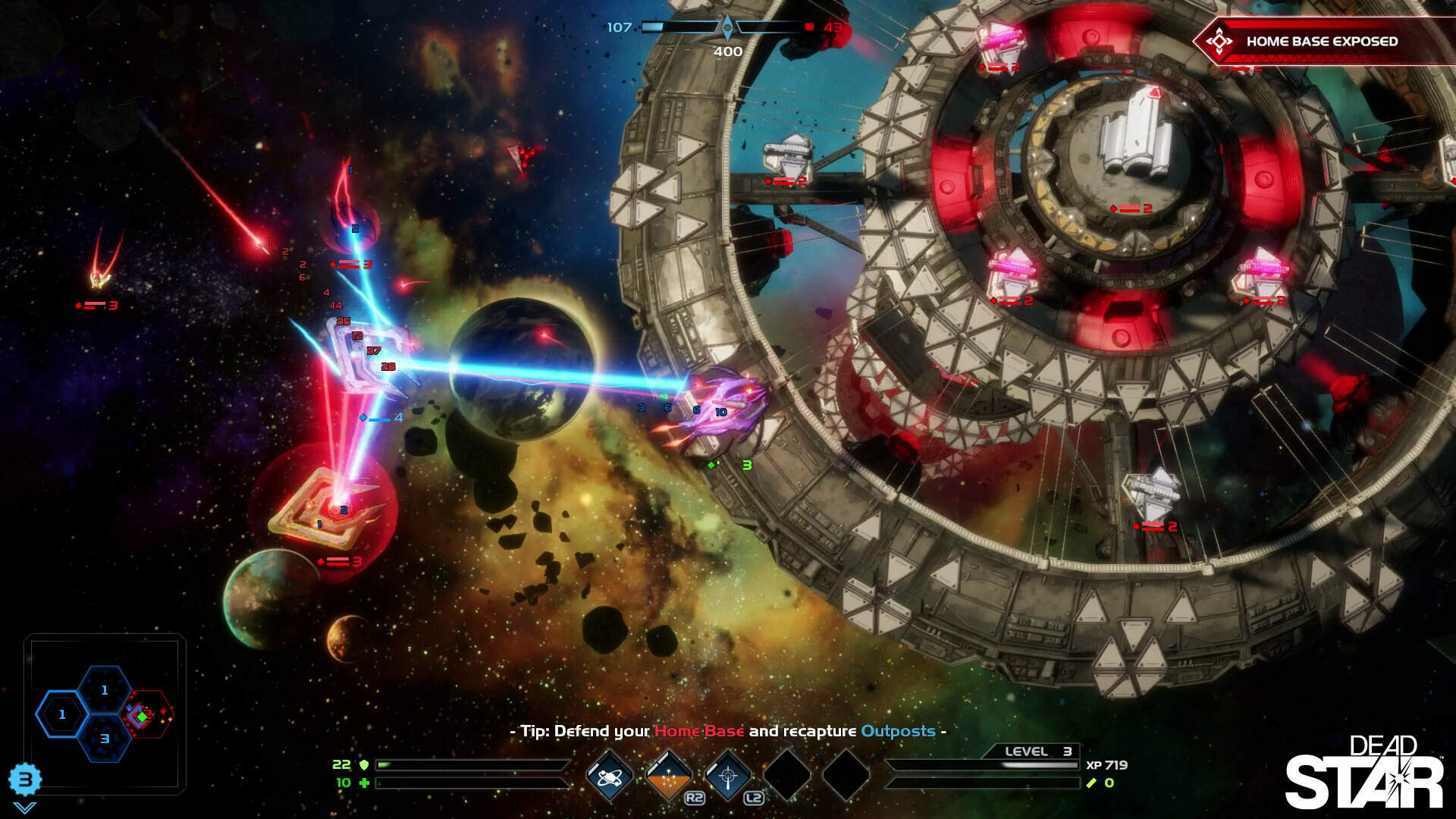 Dead Star PS4 Review: Space Shooter Meets MOBA Variant