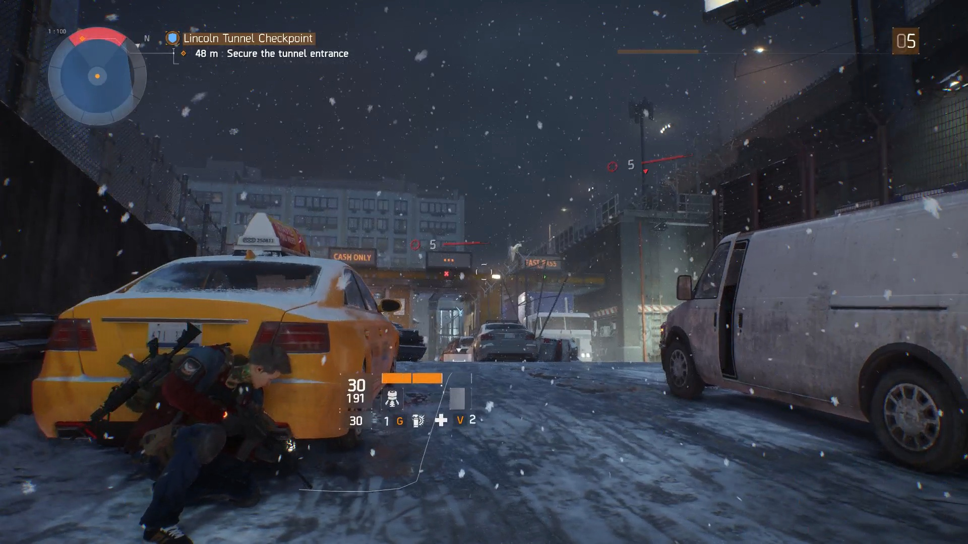 The Division Lincoln Tunnel Checkpoint Usgamer