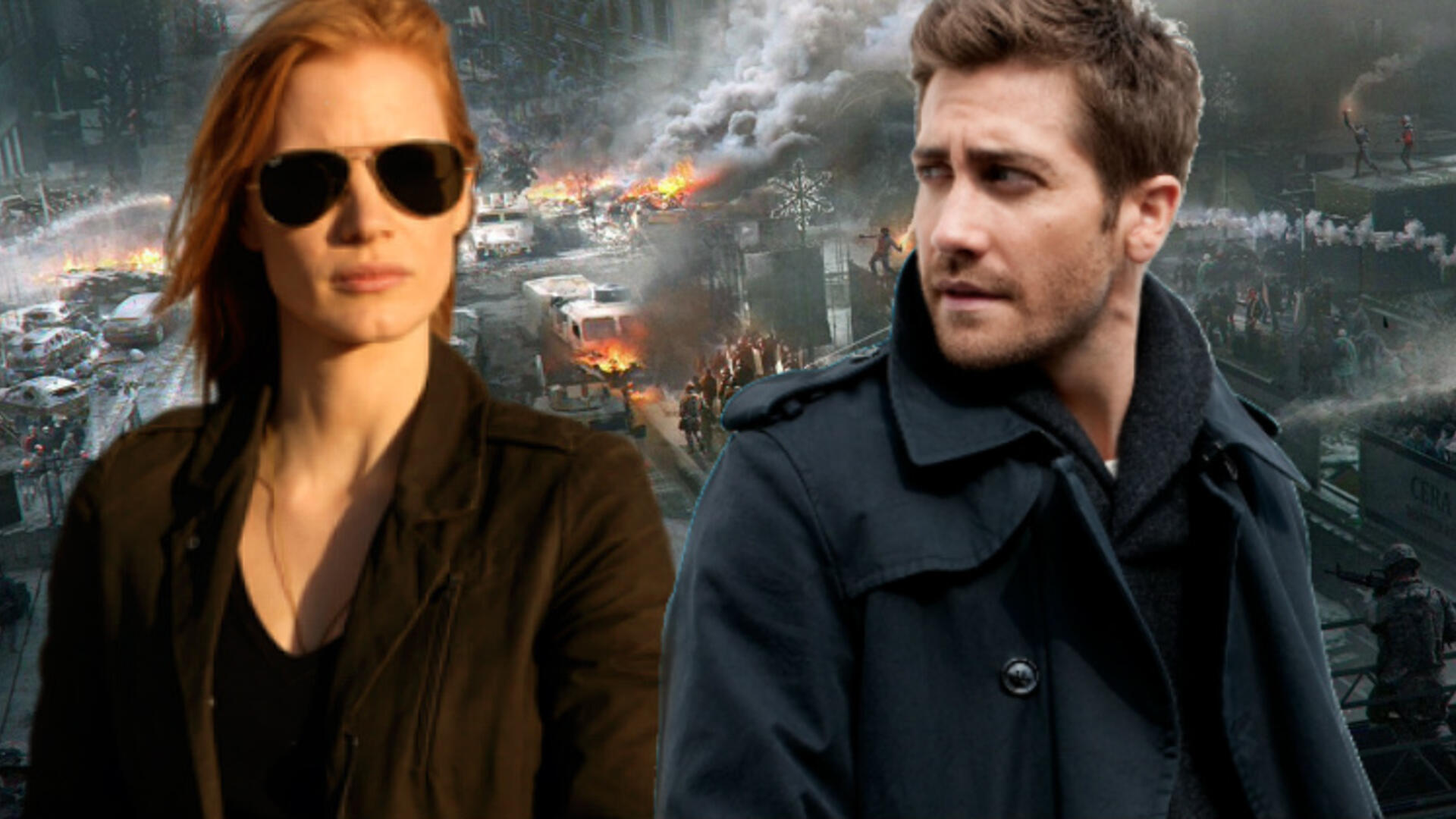 The Division is Coming to Film with Jessica Chastain and Jake Gyllenhaal