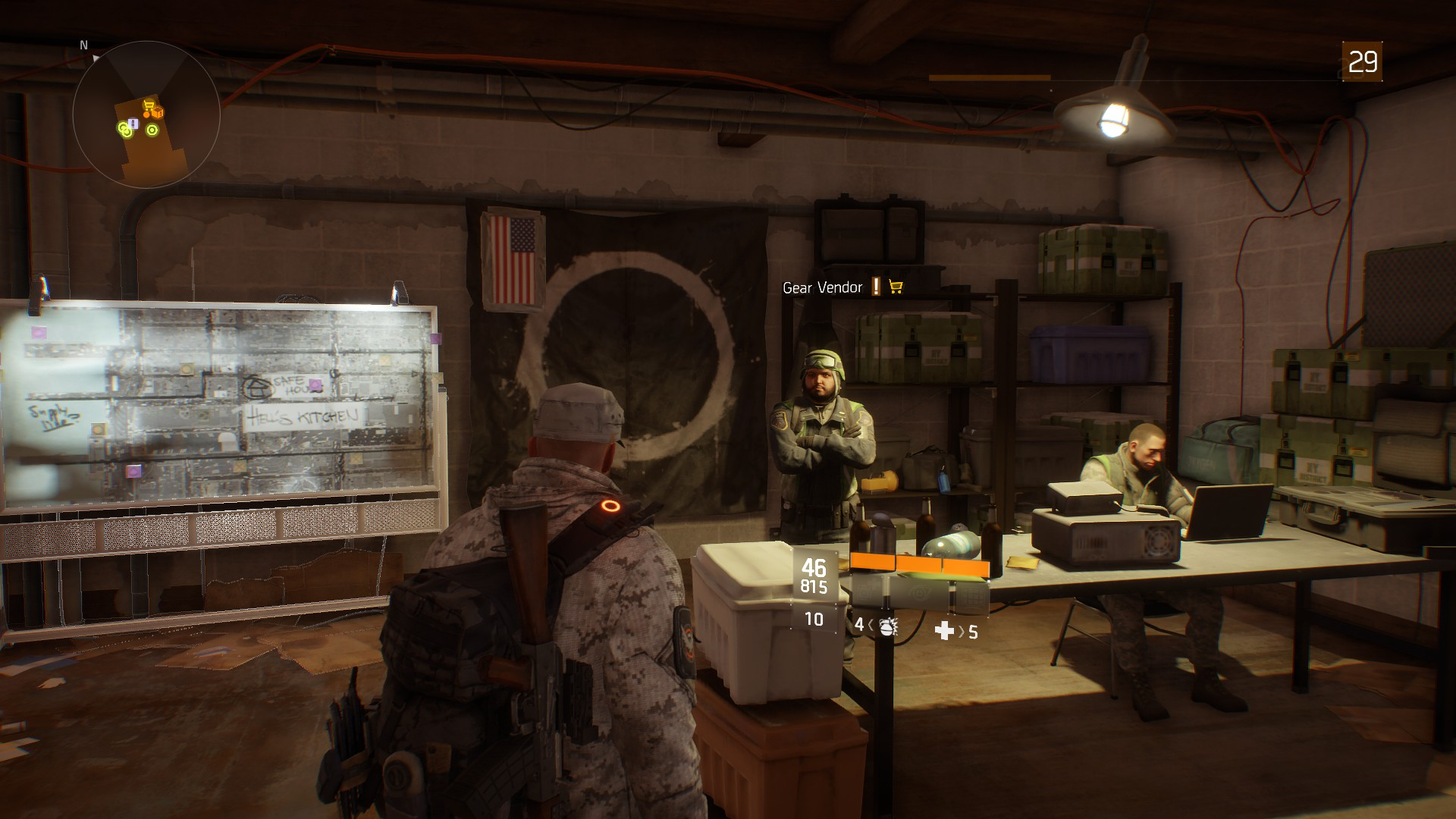 The Division: All Weapon and Gear Vendors, Safe Houses | USgamer
