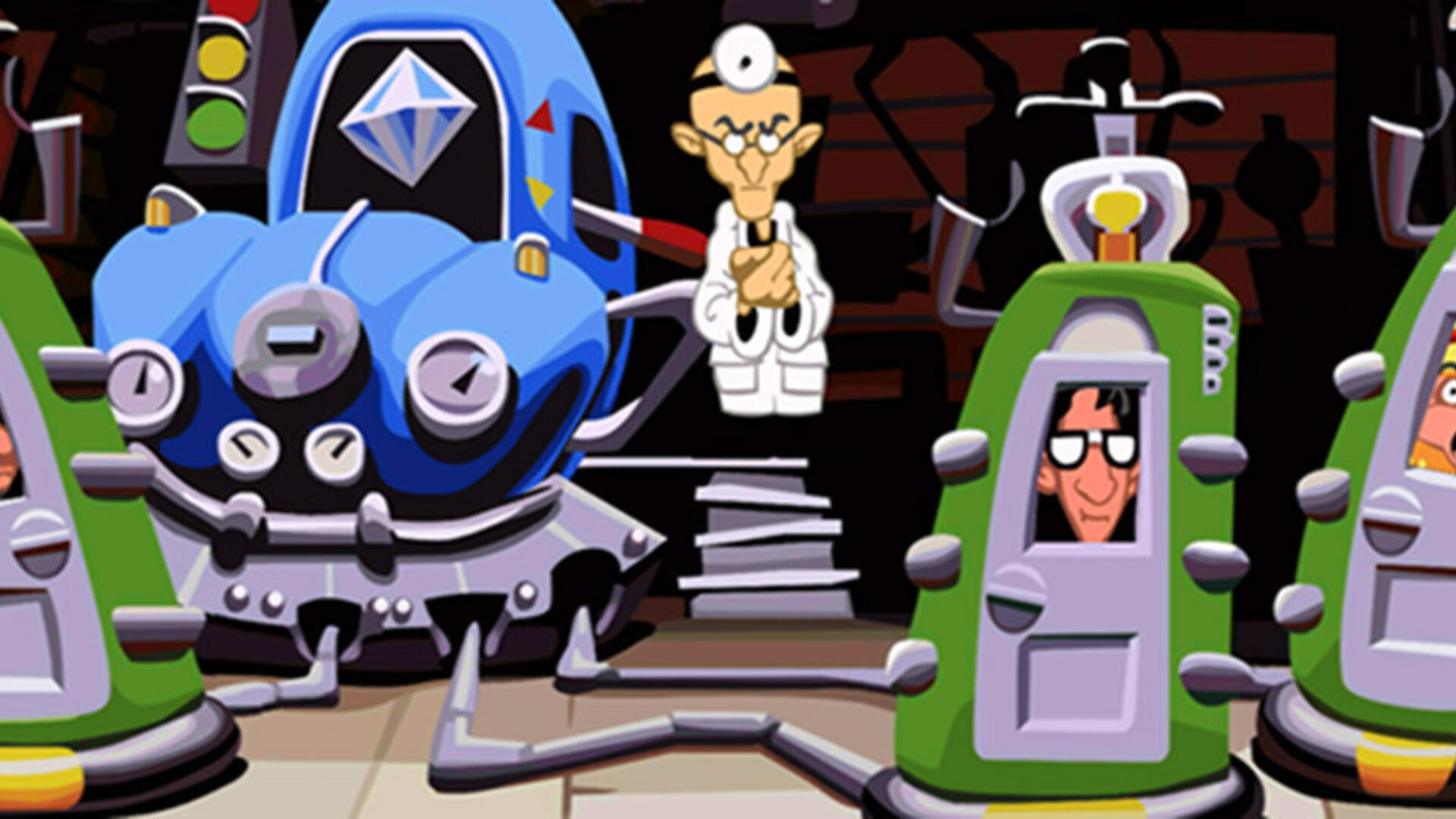 Behind the Art of Day of the Tentacle
