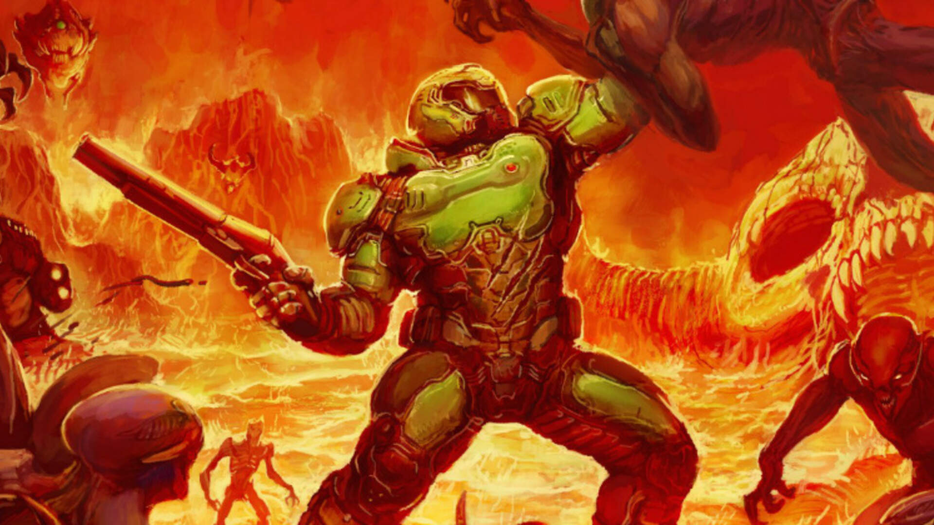 Doom on the Switch Will Include Online Multiplayer, but as a Separate Download