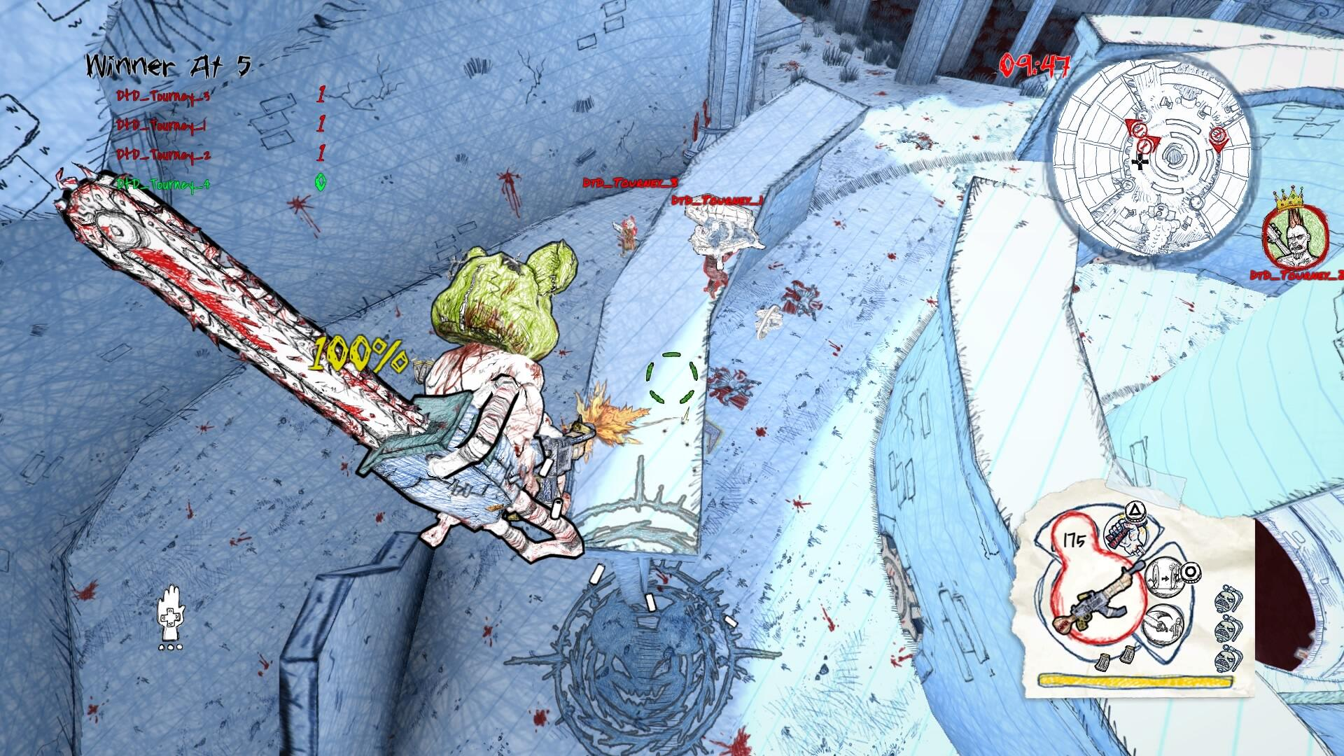 Drawn to Death PS4: Seriously Weird-Looking, Surprisingly Deep