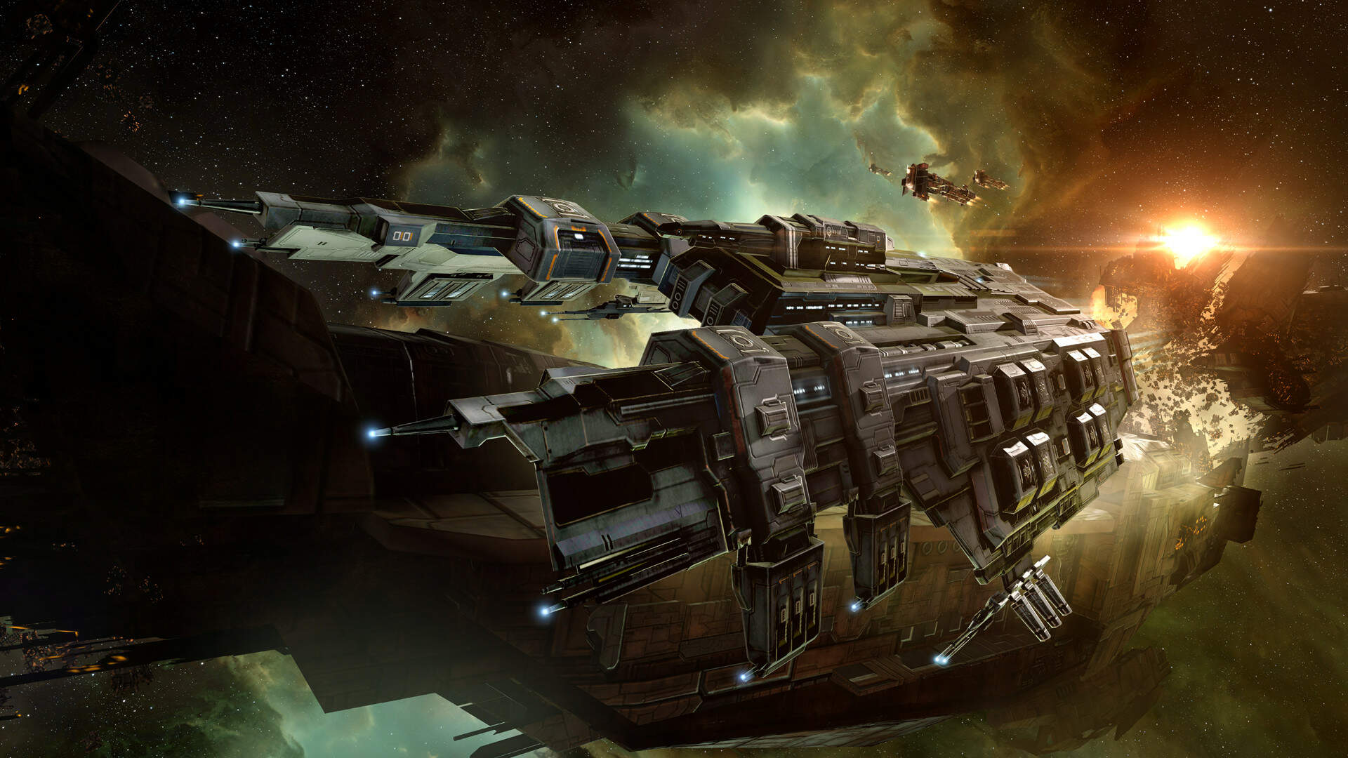 EVE Online Players Are Under Siege From A Massive NPC Armada