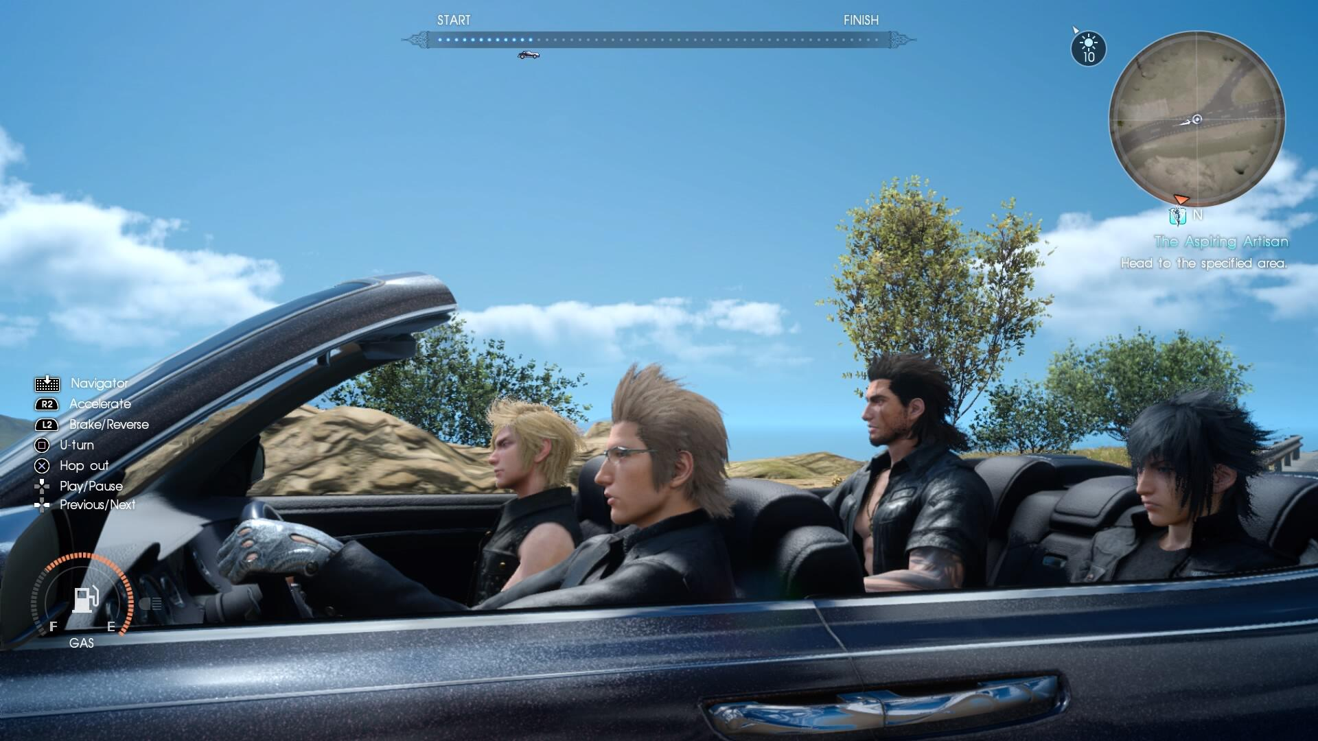 Final Fantasy 15's Last Active Time Report Airs Next Week