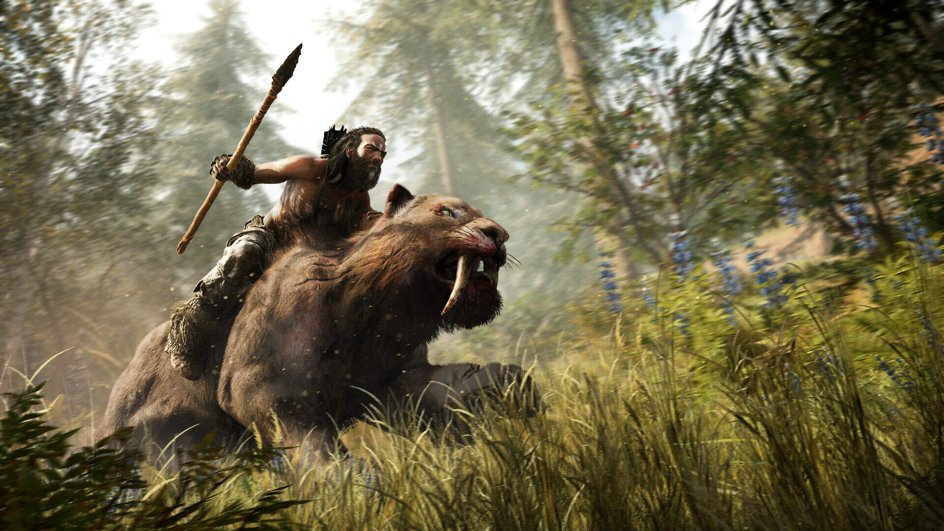 Far Cry Primal Beast Master Hunt - The Bloodfang Sabertooth