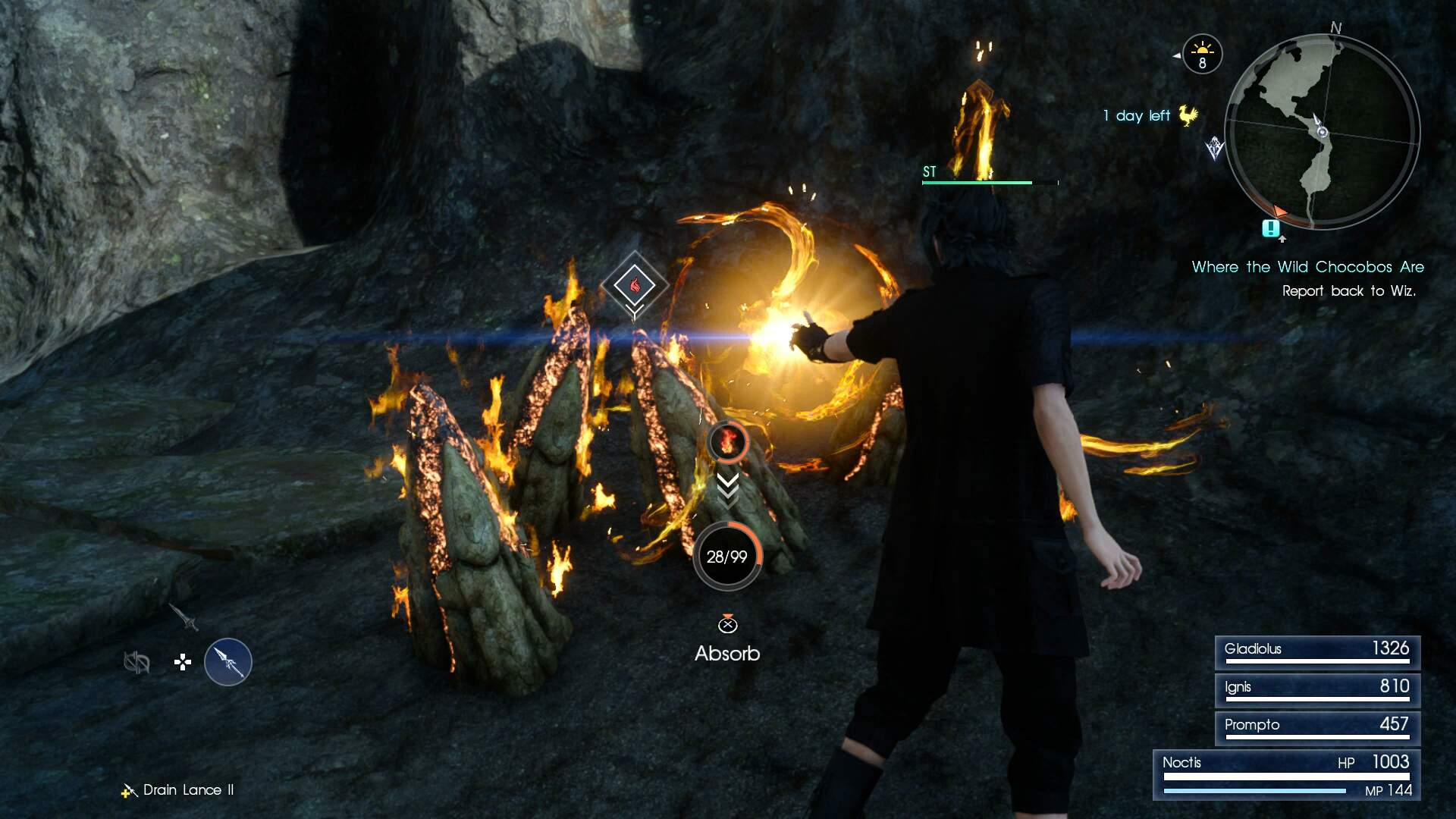 Final Fantasy 15 Elemancy and Magic Guide - Catalysts Detailed