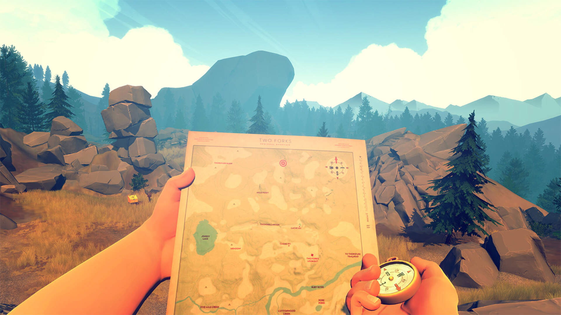 Campo Santo's Firewatch is Coming to the Nintendo Switch This Spring
