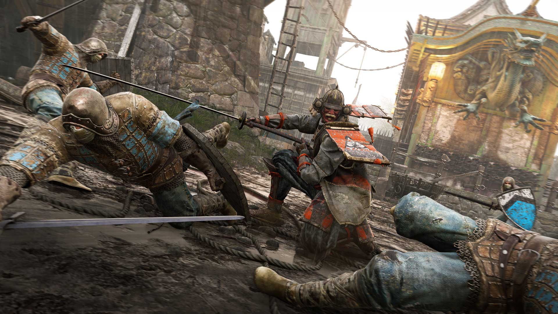 for honor download size ps4 2019