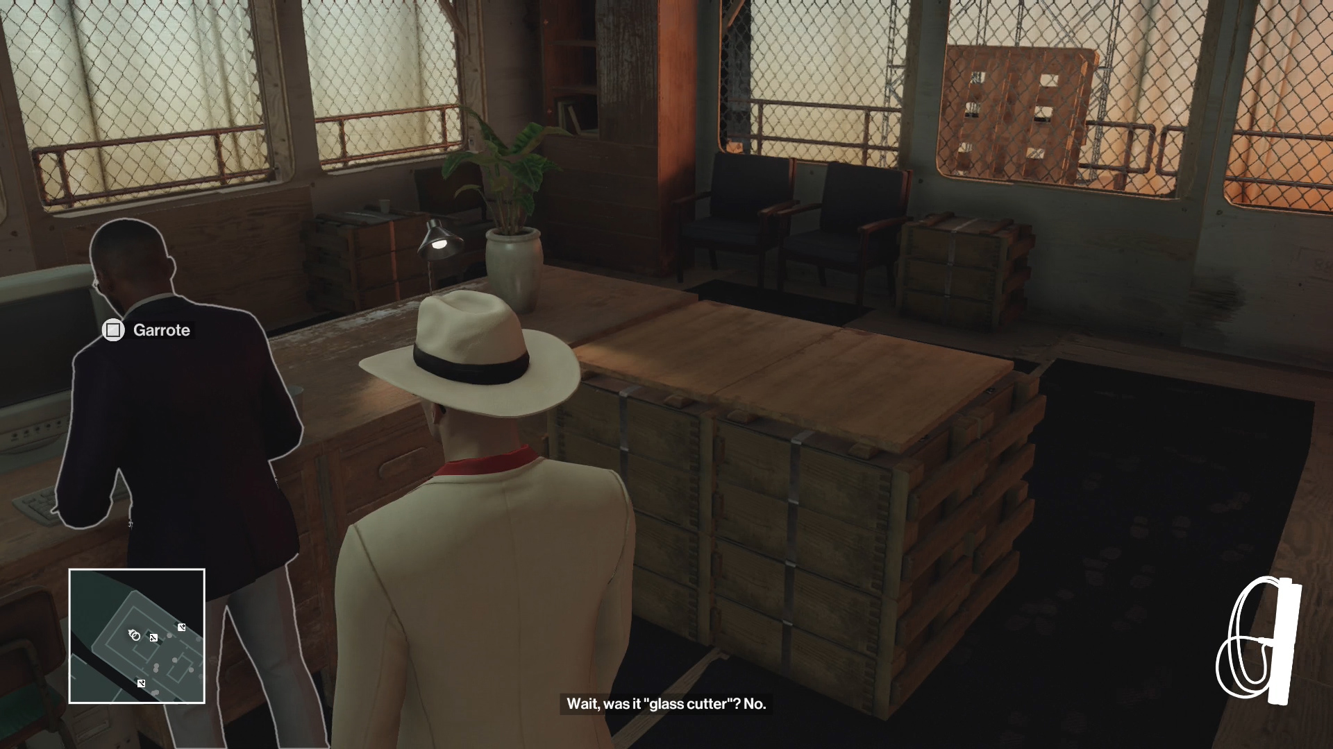 Hitman Private Meeting Mr Norfolk Disguise Usgamer