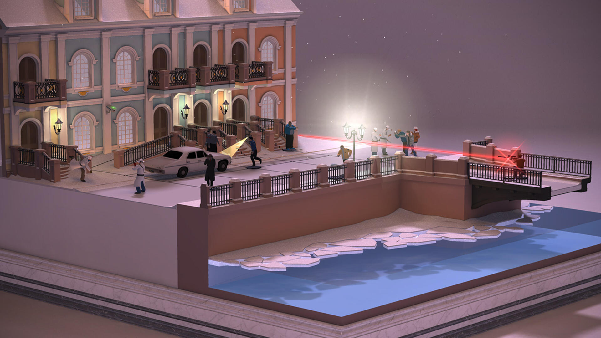 Hitman GO Definitive Edition: Dynamic and Deadly PS Vita (and PS4) Puzzling
