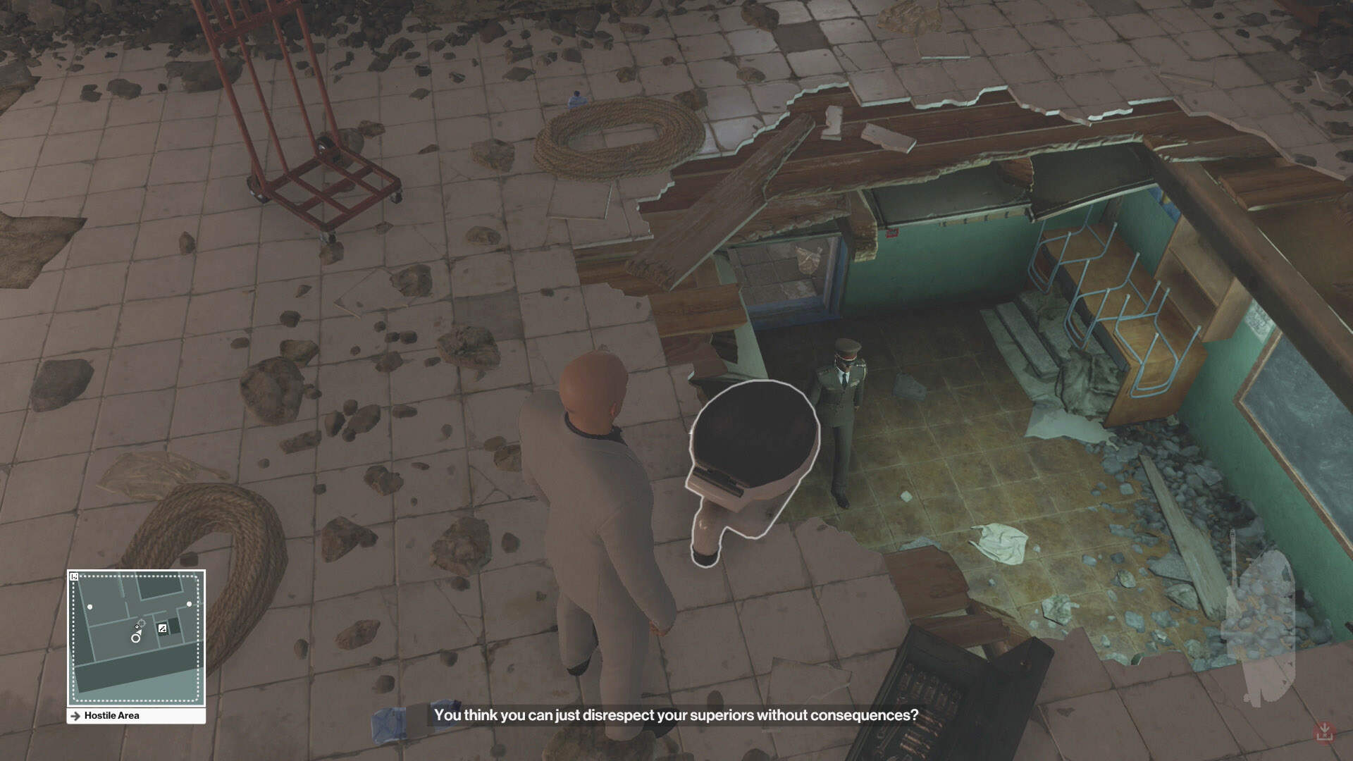 Hitman: Marrakesh - Bathroom Break
