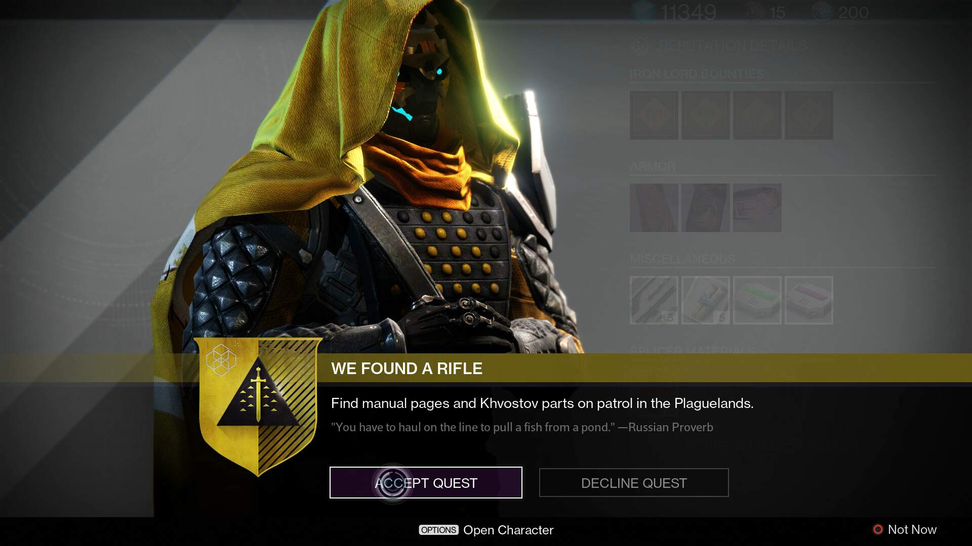 Destiny: Rise of Iron – How to Find the Khvostov Parts