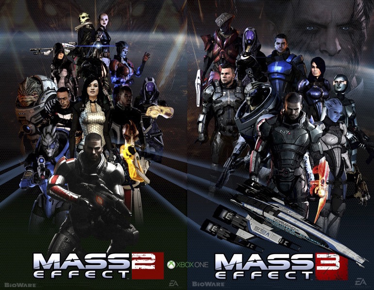 Mass Effect 2 and 3 Are Backwards-Compatible on Xbox One