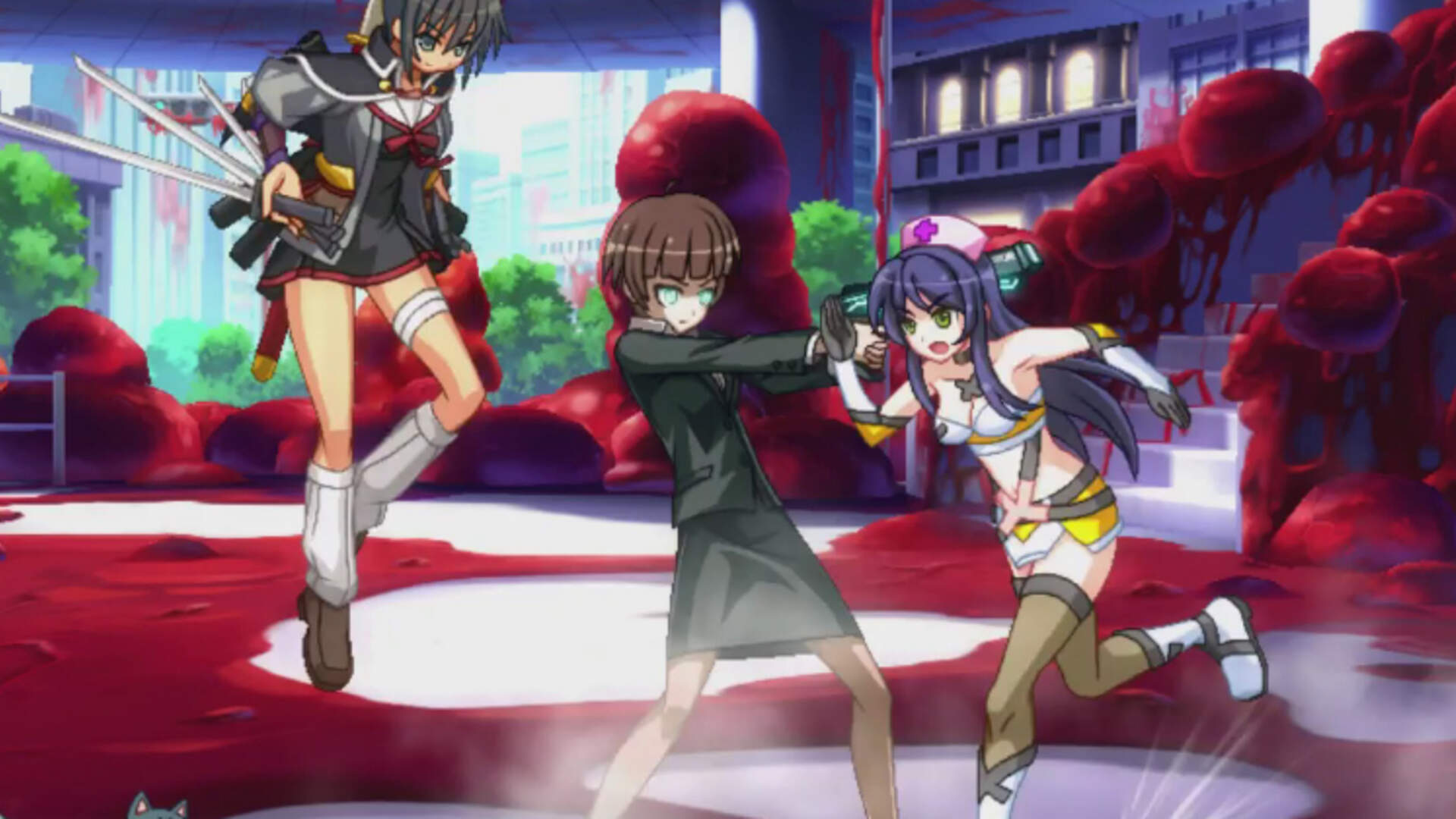Nitroplus Blasterz -Heroines Infinite Duel- PS4 Review: The Obscure Fanservice Fighter