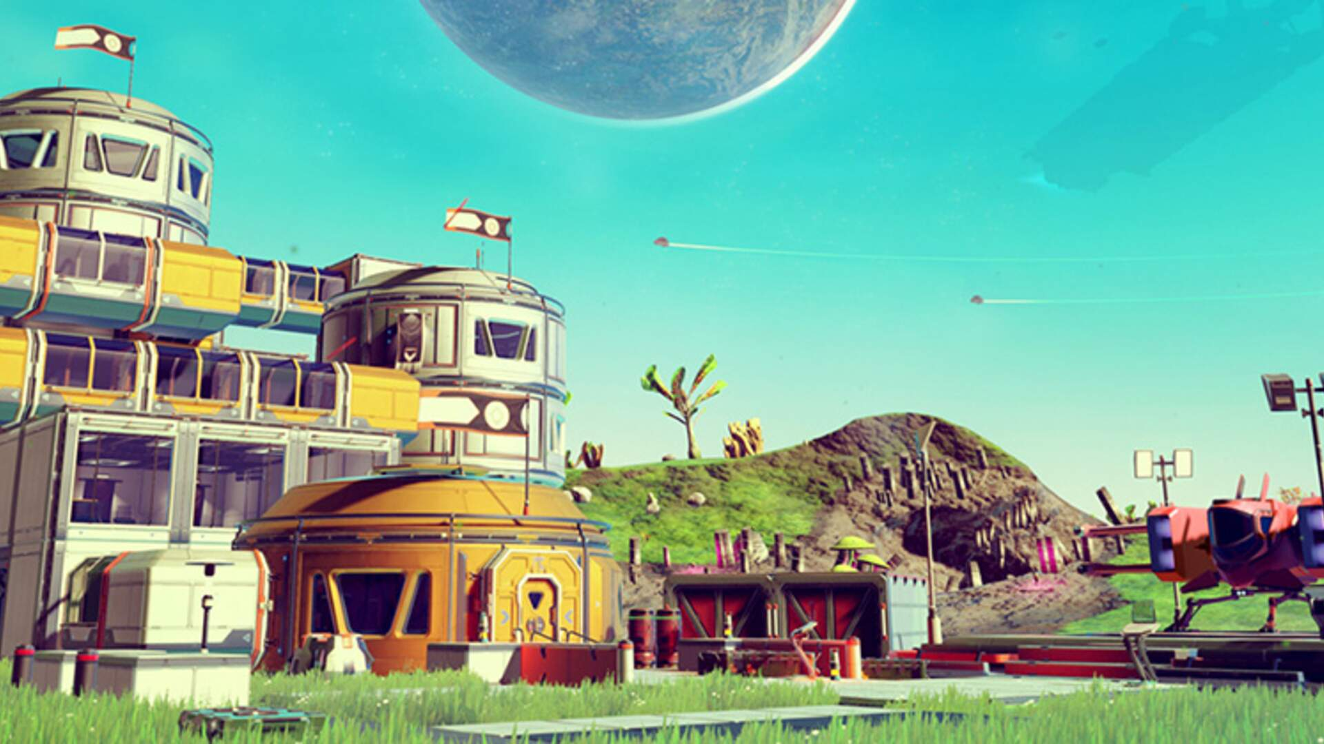 No Man's Sky Creator Shows the Ludicrous Heights Base Building Can be Taken to in the New Update