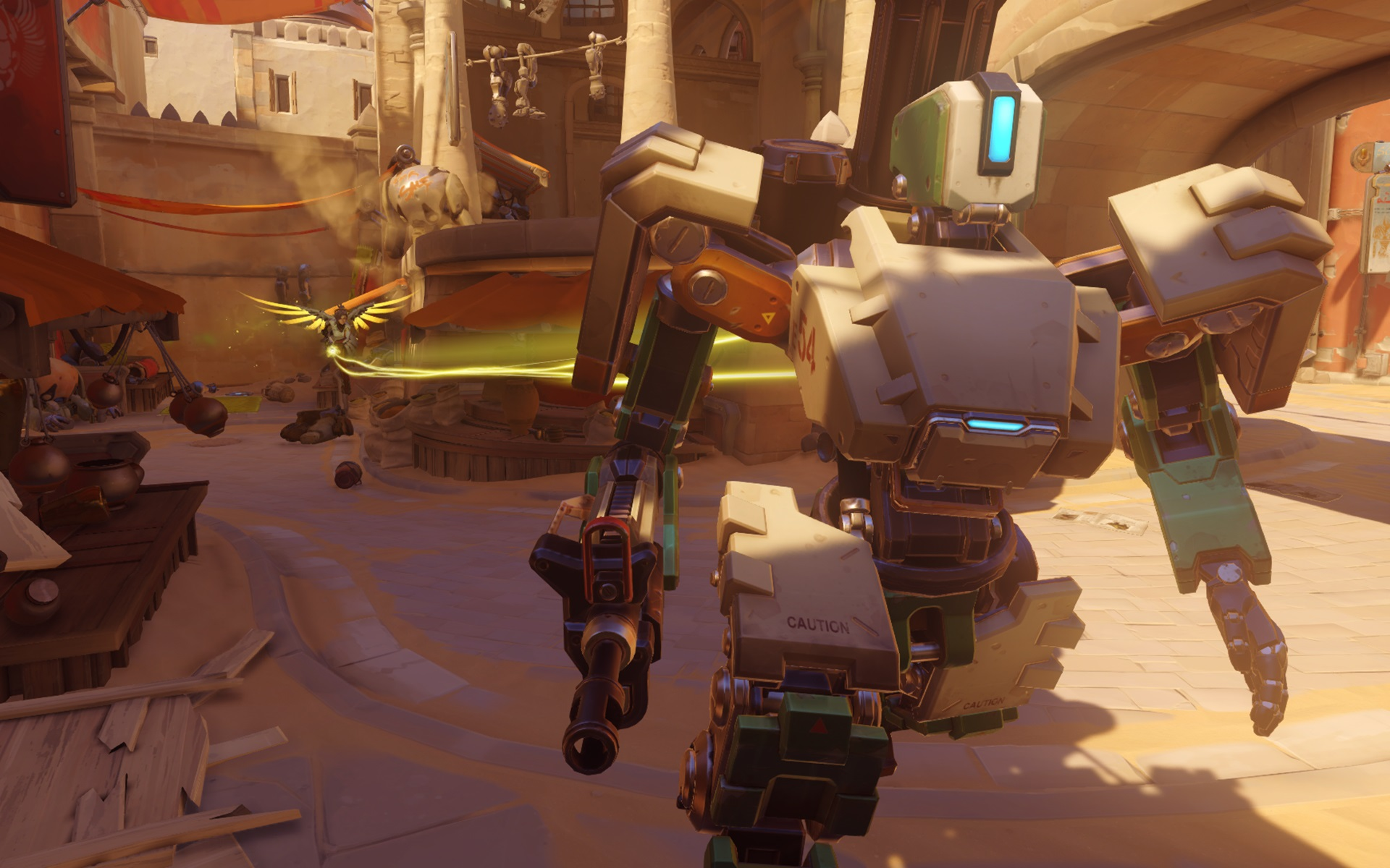 How to Play As Bastion in Overwatch recommend