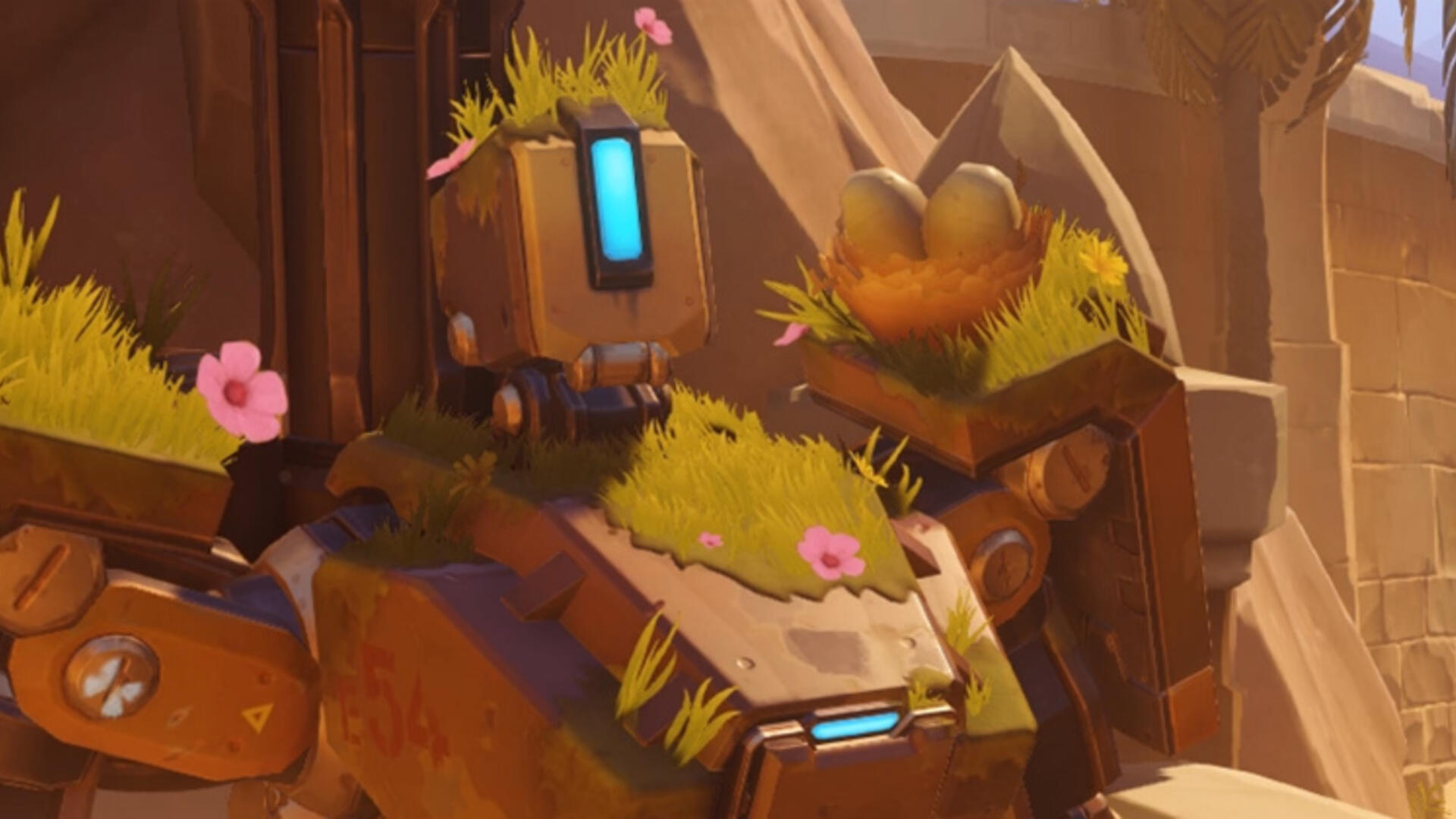 Overwatch's Bastion Is Getting Some Buffs In the Near Future