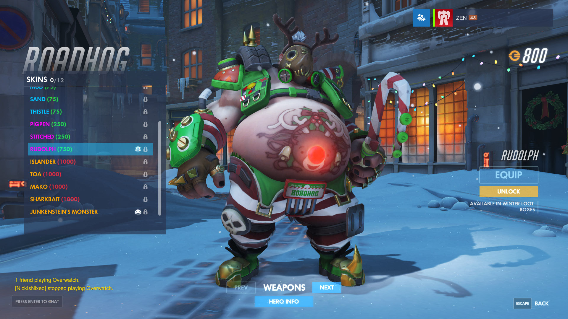 Overwatch Winter Wonderland End Times (Update: Event Ends Today ...