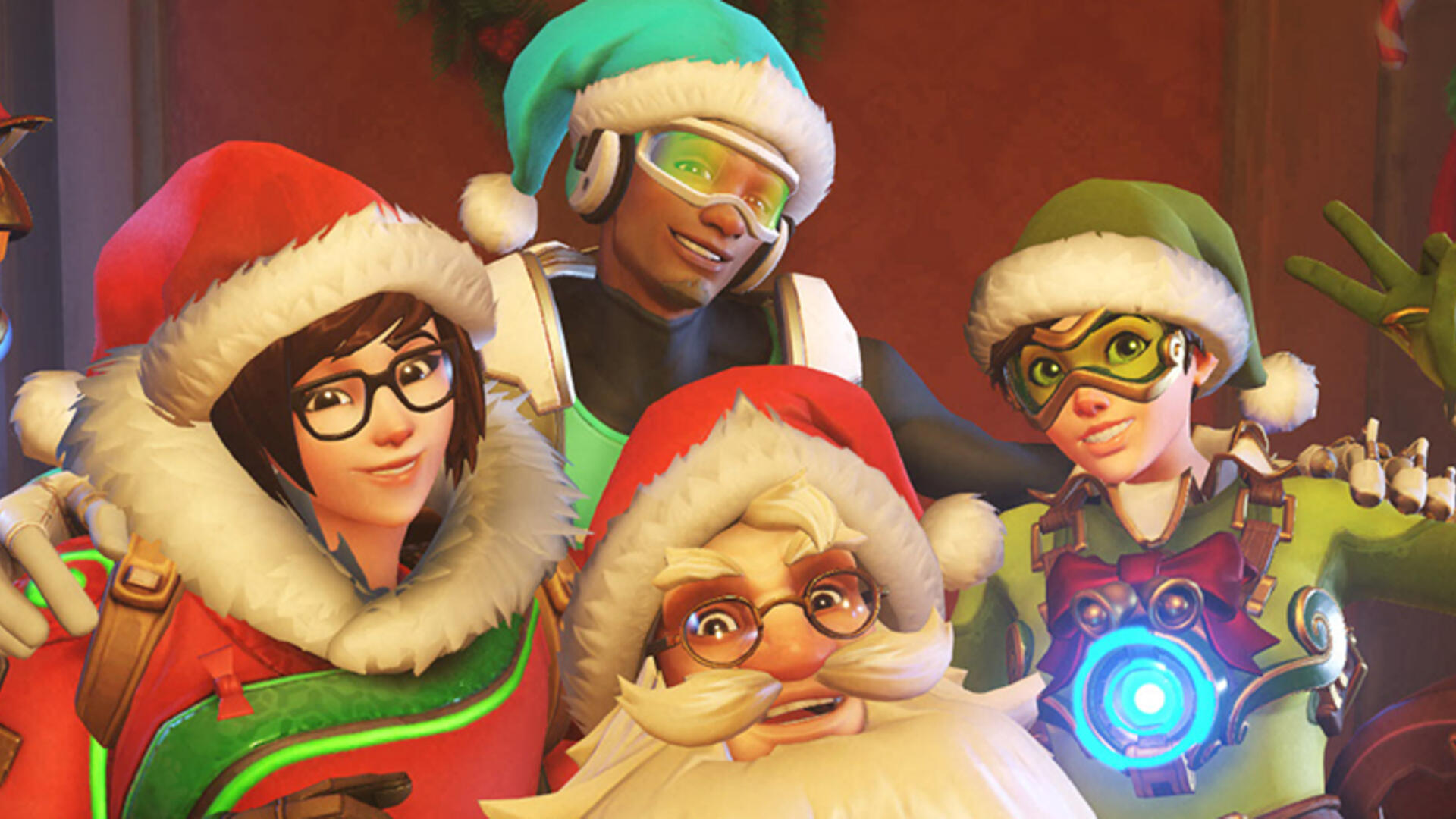Overwatch's Winter Wonderland Returns Soon With a Scary Mei Versus Winston Mode