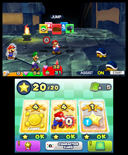 1617 903 479 764 70 Mario & Luigi: Paper Jam 3DS Review - Recycled But Reliable