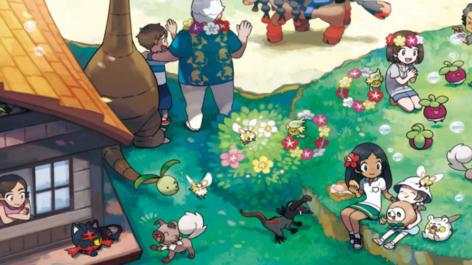 Pokemon Sun and Moon Evolves Gyms, Adds Alola Forms
