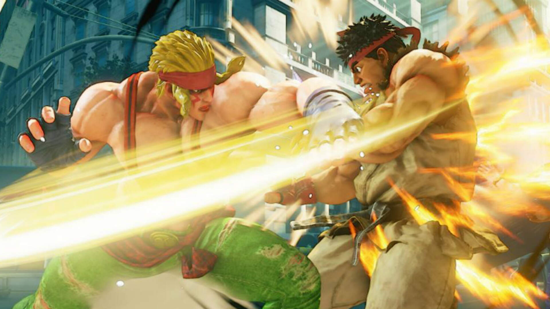 Alex Enters The Ring As Capcom Tries to Improve Street Fighter V