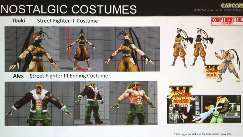 street fighter 5 getting sf3 costumes and an sf2 stage as dlc usgamer
