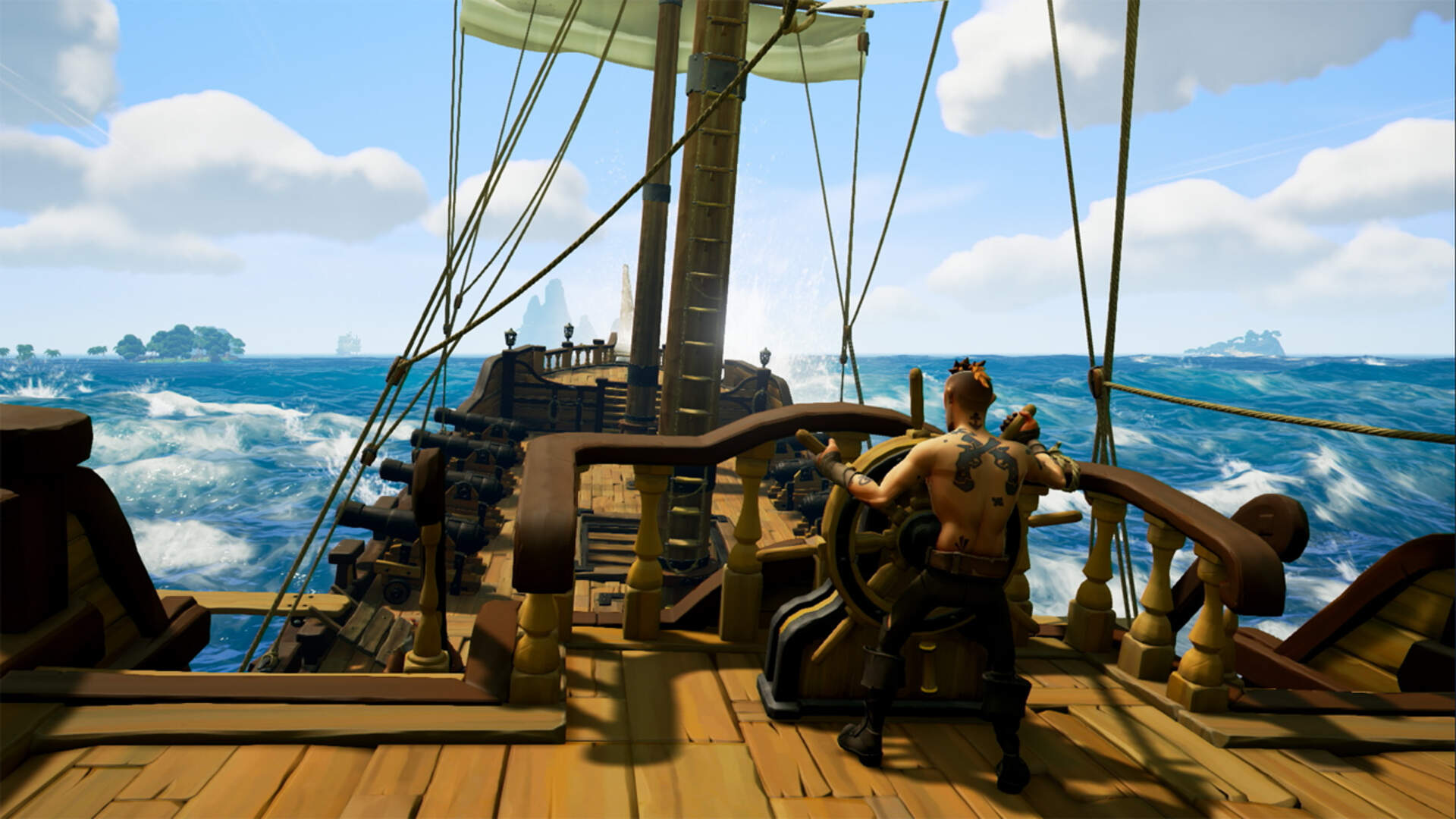 Sea of Thieves Was Directly Responsible for Mixer's Split-Screen Streaming Mode