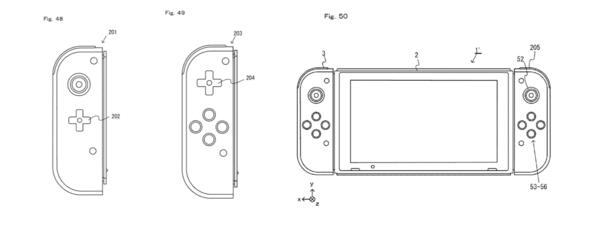 Nintendo Switch Patents Show Off Touchscreen, Alternate Joy